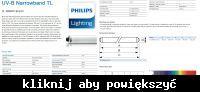 Oprawa świetlówki UV 120V - 100W (TL 100W/01 SLV/10)