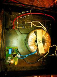 Prostownik do ładowania akumulatora - spalony triak