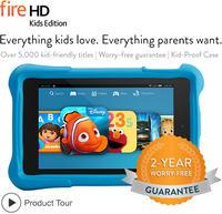 Amazon - Fire HD Kids Edition - odporny tablet stworzony z my�l� o dzieciach