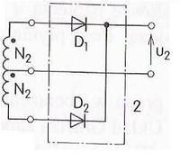 Czy mogę tak podłączyć transformator z dzielonym uzwojeniem?