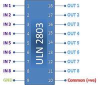 74hc595 - Dyskoteka przekaźników - zakłócenia.