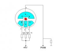 Nietypowy przełącznik obrotowy-Adaptacja dla Arduino?