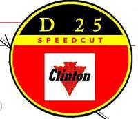 Pilarka CLINTON D-25 - Odnowienie, rekonstrukcja zabytku z 1962 roku.