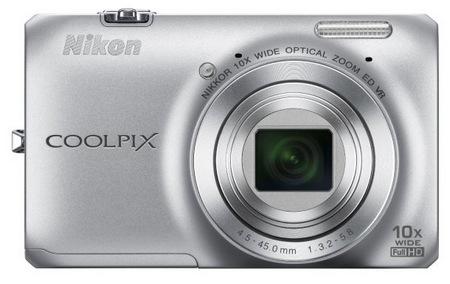 Kompaktowy aparat cyfrowy Nikon CoolPix S6300 z 10-krotnym zoomem optycznym