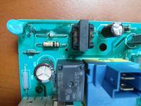 Electrolux EWF 8040W nie grzeje wody grzałka wymieniona, dym na plytce?