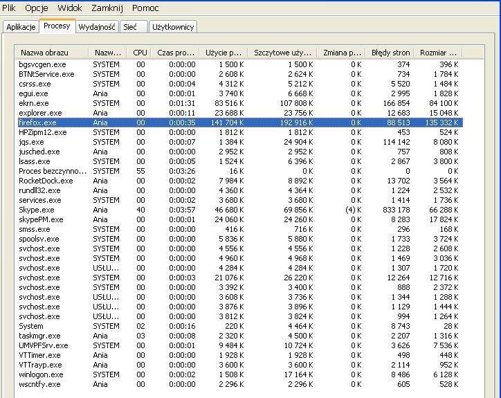 ASRock P4VM800 , Intel Celeron D, 2133 MHz - u�ycie 100% CPU