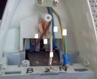 �elazko MPM TU-306 - Gdzie pod��czy� kabel od termostatu ?