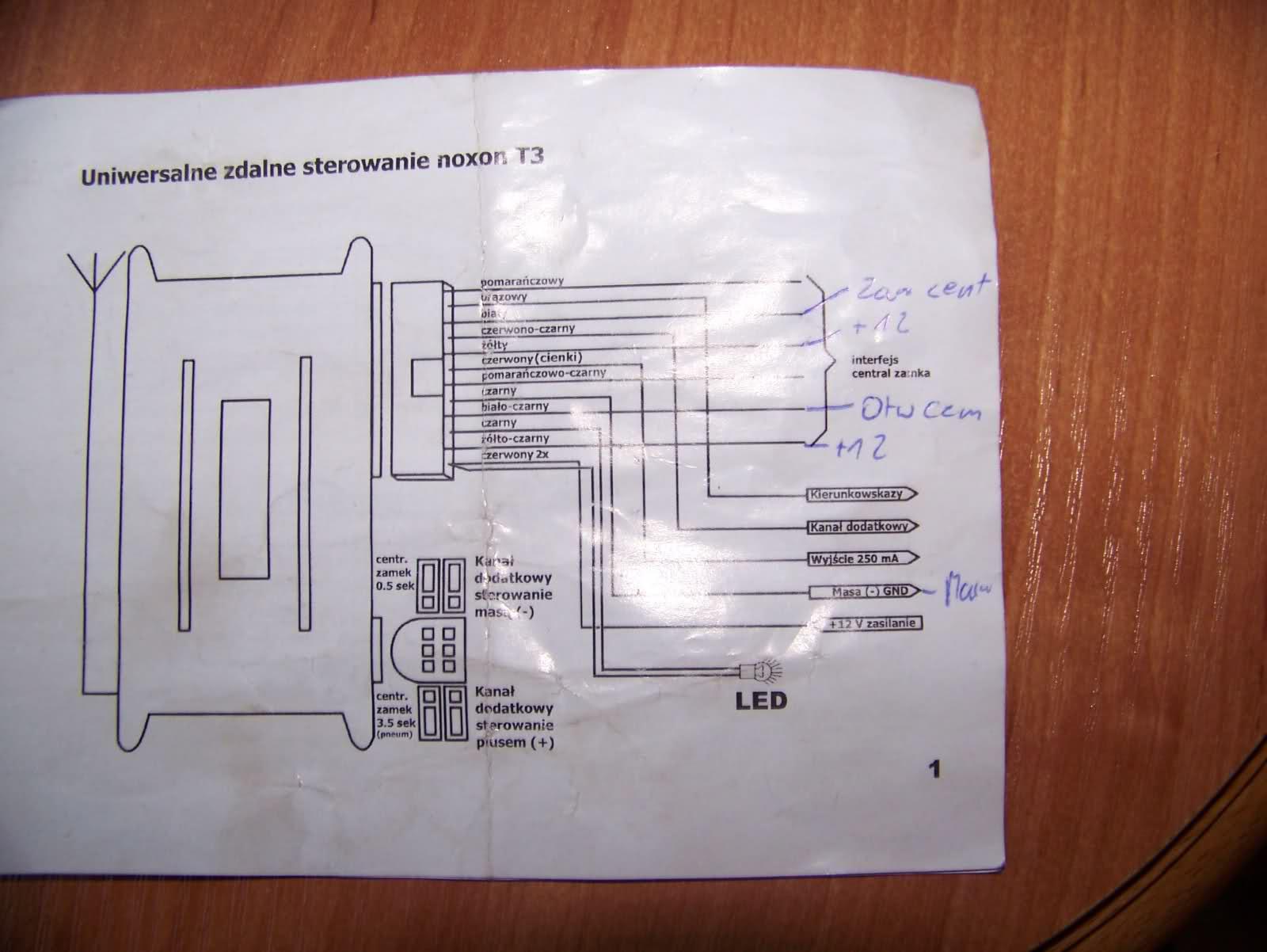 BMW E34 Problem z monta�em centralnego zamka na pilota