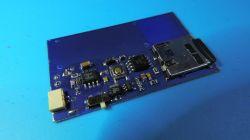 Mikroodtwarzacz audio na kartę microSD, 4mm grubości