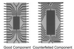 Techniki rentgenowskie do wykrywania podrobionych układów scalonych