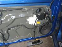 wyg�uszenie drzwi oraz monta� zestaw�w g�osnik�w w VW golfie IV.w�asna produkcja