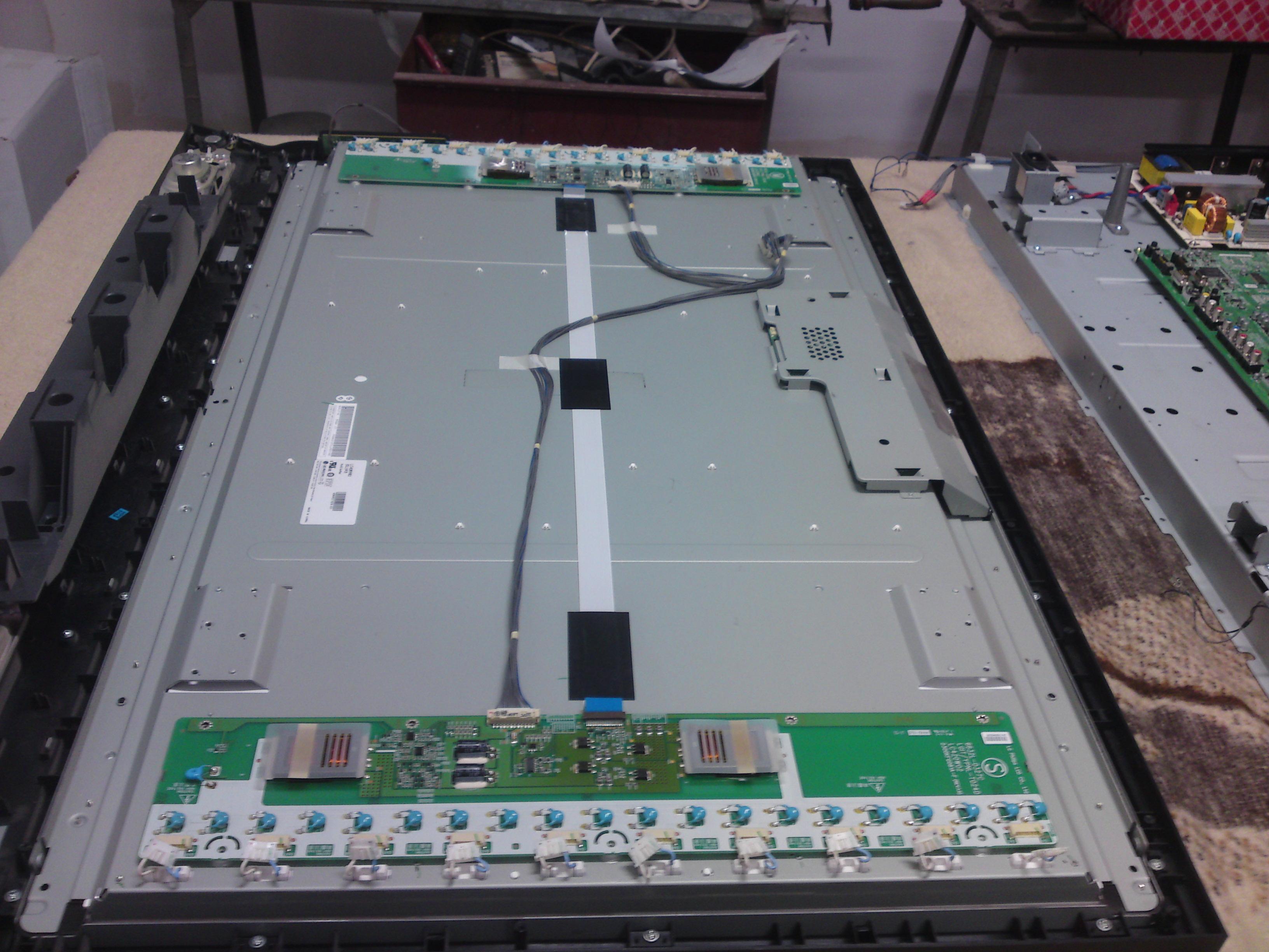 Pod�wietlenie matrycy w LCD LG 42LC25R