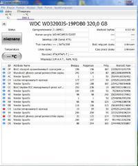 WD3200JS - Ocena ewentualnej naprawy/ odzyskania danych z dysku