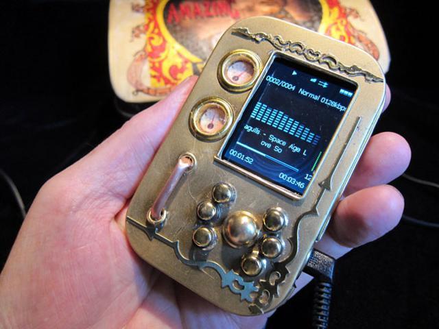 Rockwell Archos Vision steampunkowy odtwarzacz MP3