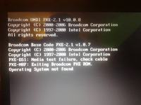 acer extensa 5220 - operating system not found, sprawny dysk