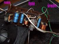 Philips - zwrotnica trójdrożna i dodanie równoległe kondensatora w torze niskich