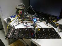 C.J1900A-BTX Plus V20 - płyta do kopania kryptowalut z obsługą 8 kart GPU