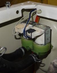Candy EVO4 1274LW-S (31004021) - Pralka nie pobiera płynu do płukania - naprawa