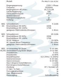Spawarka Pro Multi 226 ac/dc. Jakie zabezbieczenie sieciowe?
