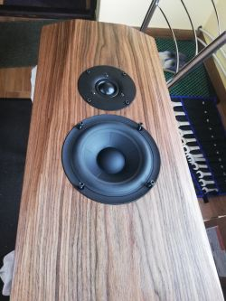 3-drożne Zephyr Le V2 projekt YB Audio