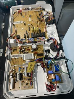 Samsung RS7768FHCBC - w ogóle nie ma prądu