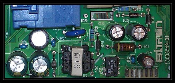 Polar PFL1021/D - Naprawa programatora do pralki PFL121/D