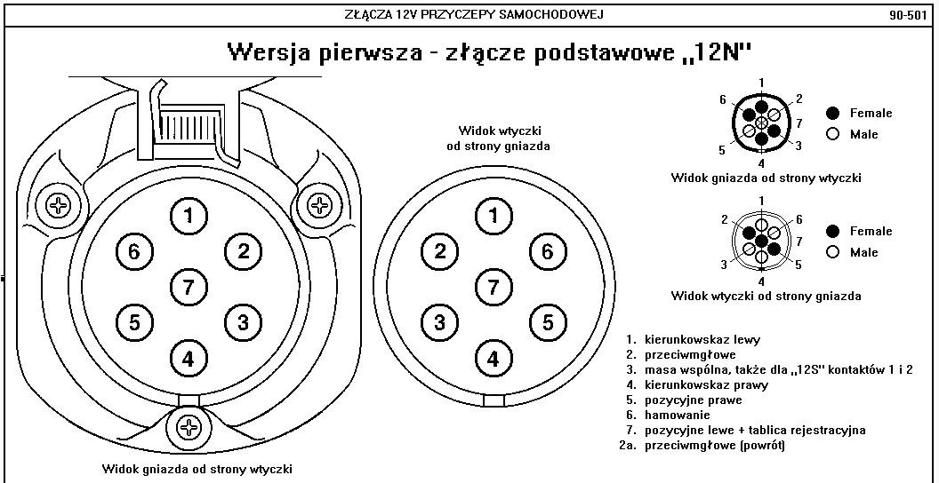 Skrzynka bezpiecznik�w w Ursusie C 330 - opis