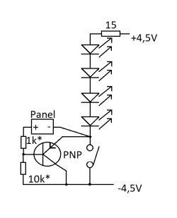 Panel sterujący przekaźnikiem