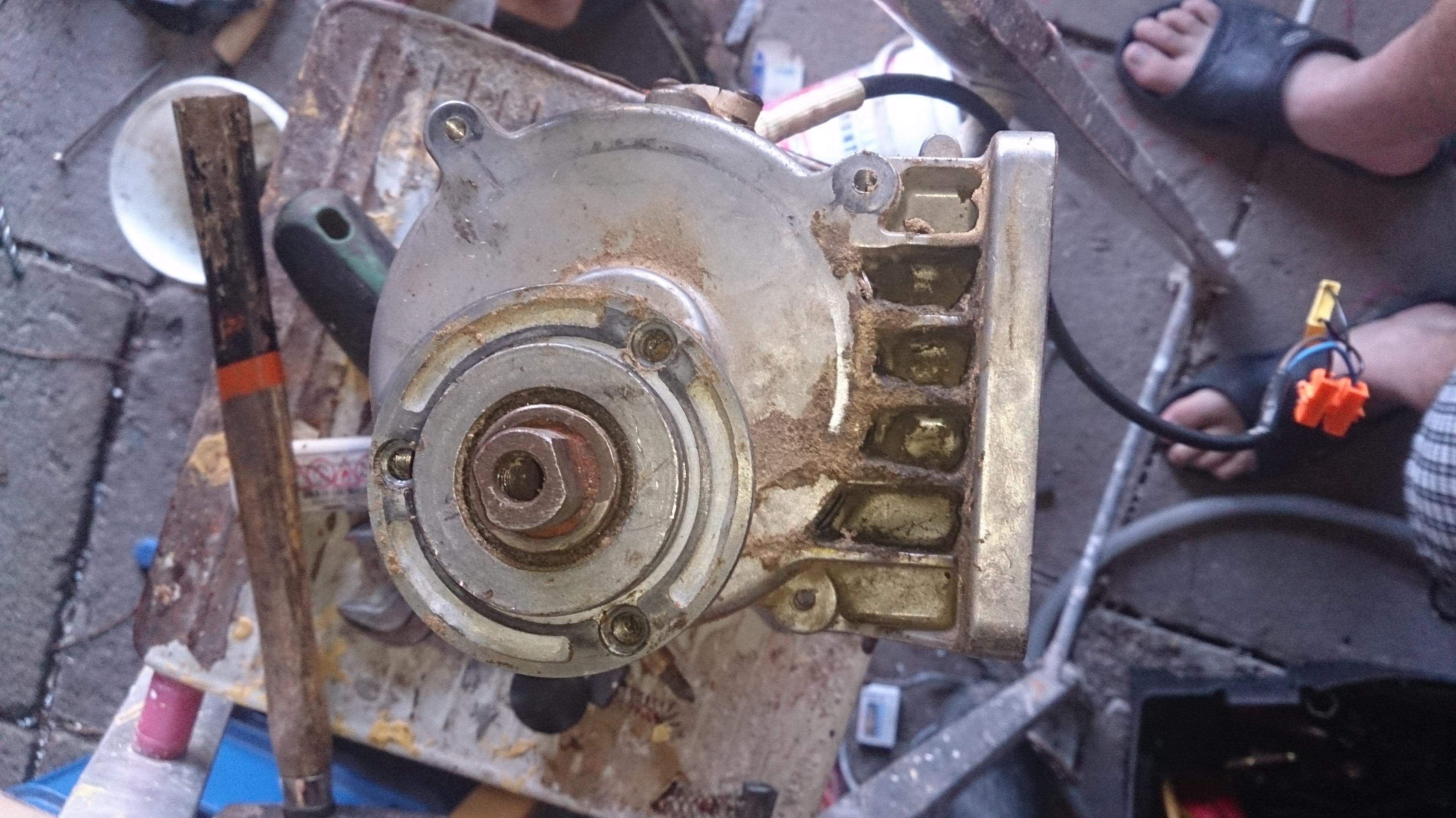Eurotec WPTS113 2550w wiatrak wirnika.