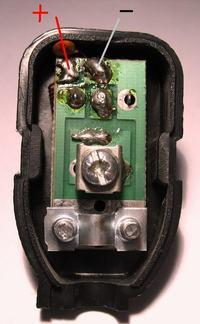 Wzmacniacz antenowy - gdzie przylutować przewody zasilające?