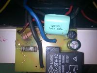 Autotransformator toroidalny ATST 2500VA 115V/230V INDEL - spalony opornik