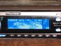 Pioneer deh-p70bt - ciemne tło wyświetlacza