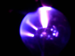 Lampa plazmowa by Duch