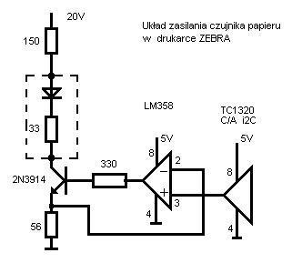 Drukarka termiczna Zebra LP 2824