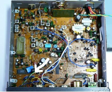 Radio Alan 28 brak tranzystora - potrzebna identyfikacja