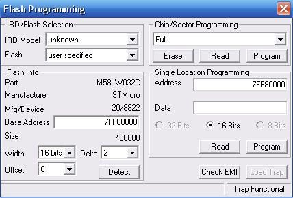 PHILIPS DSR 3201/91- zablokowany port RS323?