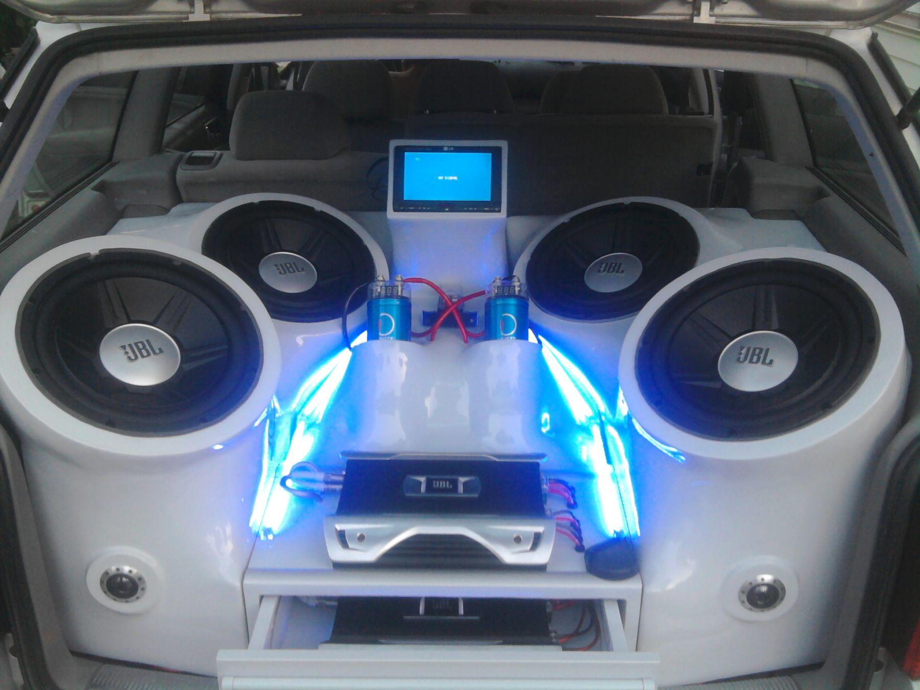 Najnowsze Moja zabudowa car audio w Passat B5 kombi - elektroda.pl AP57