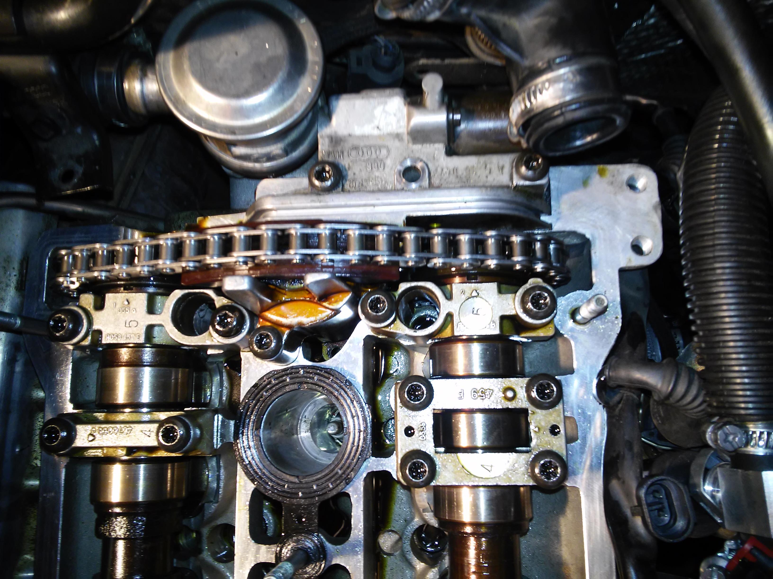 Audi A4 B6 18 T Bex B6 Bex Znaki Wałków Rozrządu
