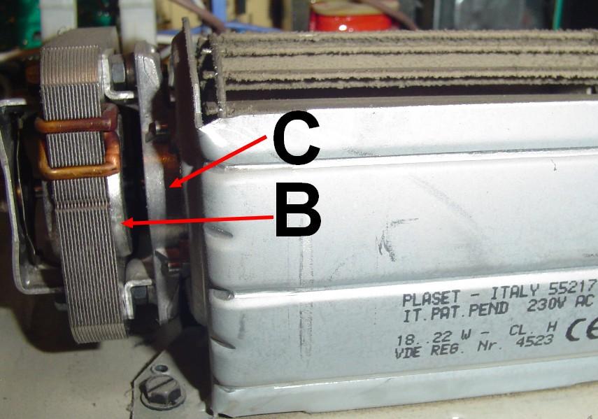 Inne rodzaje Piekarnik Whirlpool AKP407/IX, wentylator chłodzący panel AW55