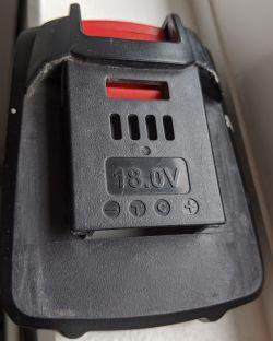 Bateria wkrętarki Parkside - Napięcie spada do 0