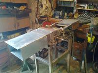 Projekt i zdjęcia z budowy rębaka do gałęzi.