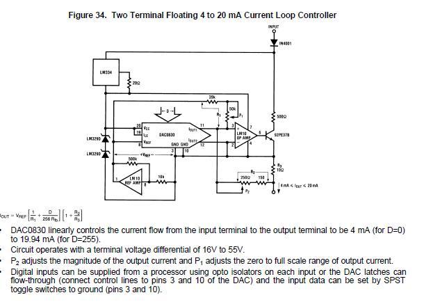 czujnik optyczny - - nie dzia�a DAC0832LCN