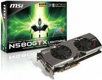 MSI N580GTX Lightning Xtreme Edition najszybsz� kart� graficzn� na �wiecie
