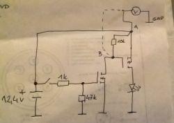 Budowa układu sterującego oświetleniem w samochodzie.
