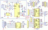 USART via IIC/SPI, 64 bajty FIFO, AUTO Flow control, AUTO DIR RS-485, 18 GPIO