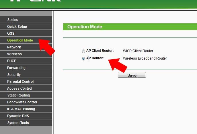 TP-Link TL-WR743ND - Nie mog� skonfigurowa� urz�dzenia w odpowiedni tryb