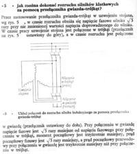 silnik 3 fazowy - Pobor mocy i pradu