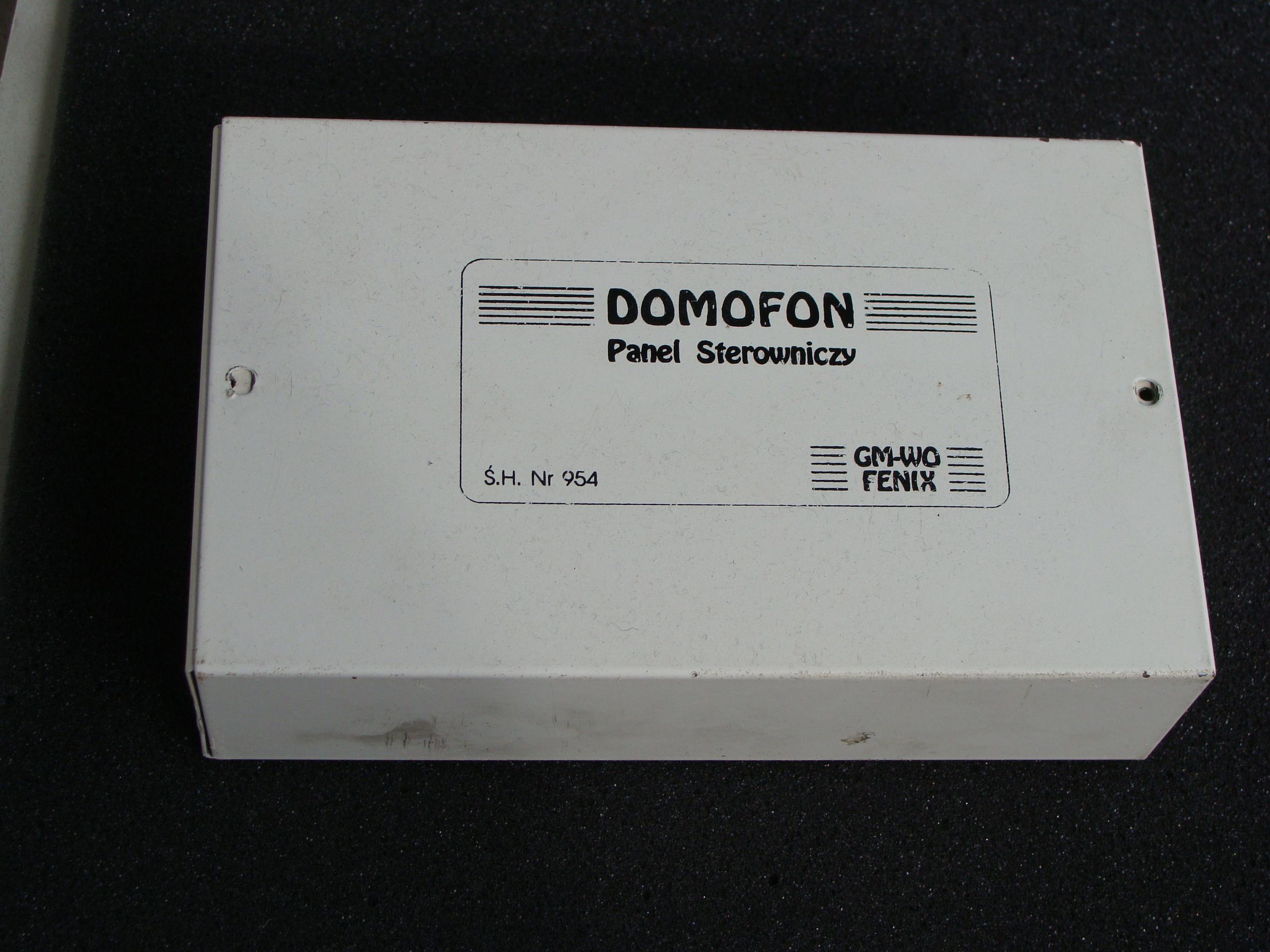 Domofon GM-WO FENIX- jak pod��czy� panel sterowania?