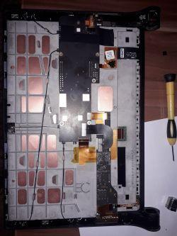 Lenovo Yoga Tab 2 1051L - Czarny ekran