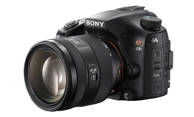 Sony a77 - lustrzanka cyfrowa z matryc� 24,3 Mpix, nast�pca Sony a700